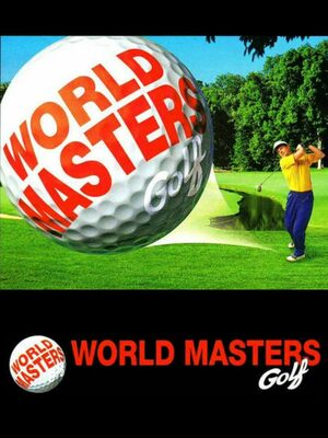 Cover for World Masters Golf.
