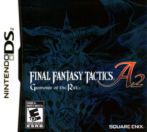 Cover for Final Fantasy Tactics A2: Grimoire of the Rift.