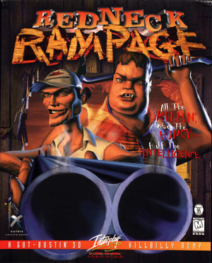 Cover for Redneck Rampage.