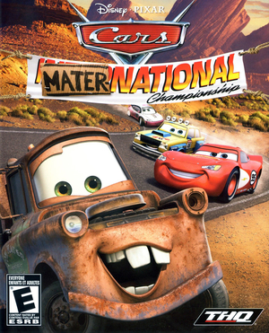 Cover for Cars Mater-National Championship.