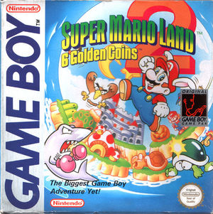 Cover for Super Mario Land 2: 6 Golden Coins.