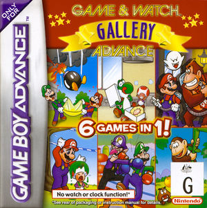 Cover for Game & Watch Gallery 4.