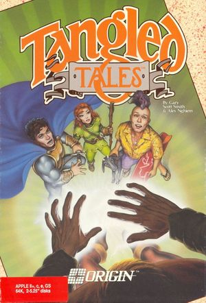 Cover for Tangled Tales.