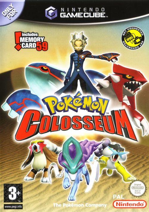 Cover for Pokémon Colosseum.