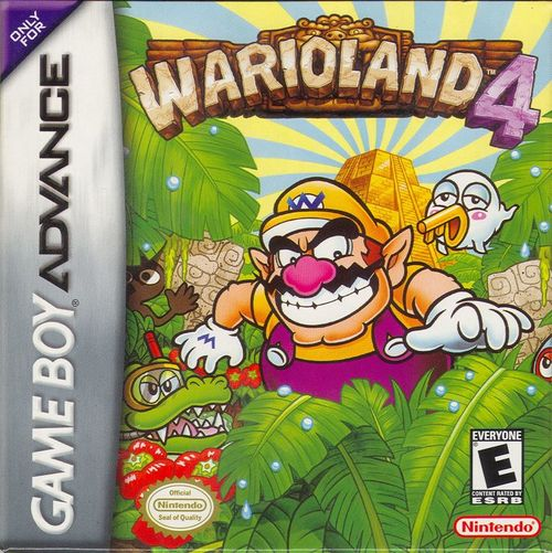 Cover for Wario Land 4.