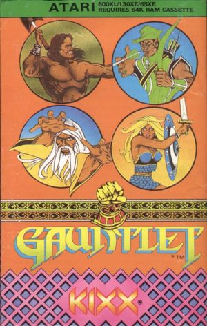 Cover for Gauntlet.