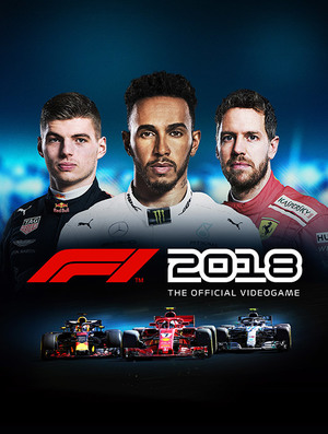 Cover for F1 2018.