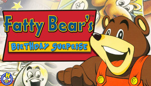 Cover for Fatty Bear's Birthday Surprise.