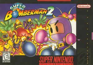 Cover for Super Bomberman 2.
