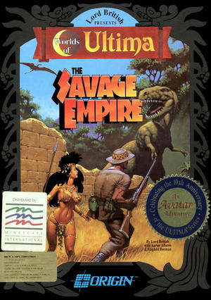 Cover for Worlds of Ultima: The Savage Empire.