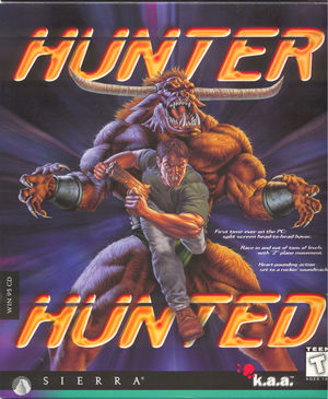 Cover for Hunter Hunted.