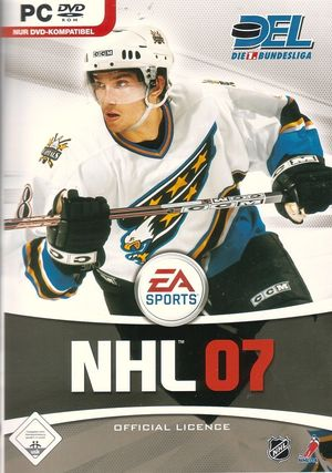 Cover for NHL 07.