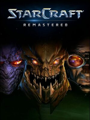 Cover for StarCraft: Remastered.