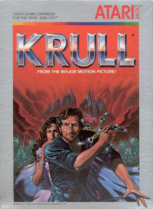 Cover for Krull.