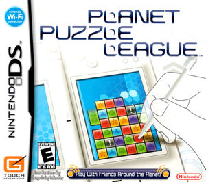 Cover for Planet Puzzle League.