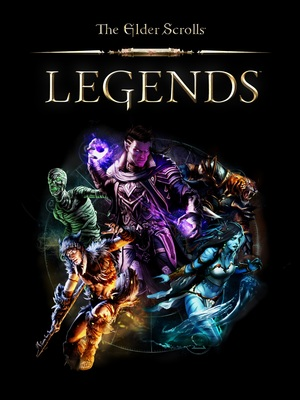Cover for The Elder Scrolls: Legends.