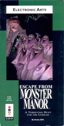 Cover for Escape from Monster Manor.