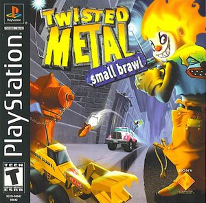 Cover for Twisted Metal: Small Brawl.