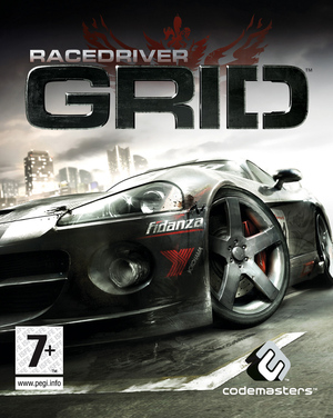 Cover for Race Driver: Grid.