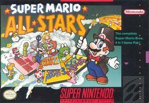 Cover for Super Mario All-Stars.