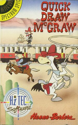 Cover for Quick Draw McGraw.
