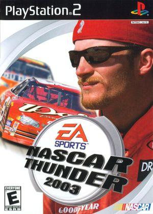 Cover for NASCAR Thunder 2003.