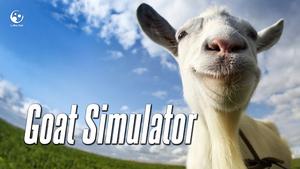 Cover for Goat Simulator.