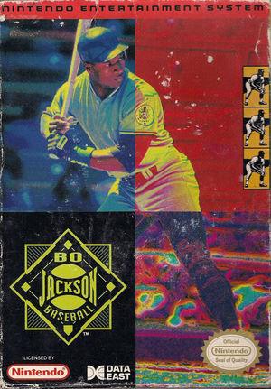 Cover for Bo Jackson Baseball.