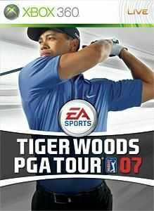 Cover for Tiger Woods PGA Tour 07.