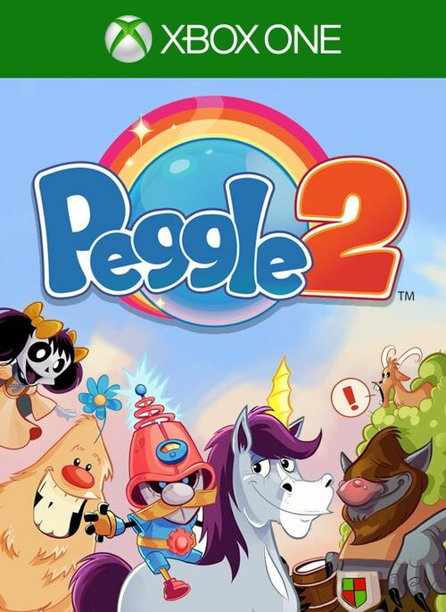 Cover for Peggle 2.