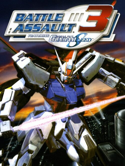 Cover for Battle Assault 3: Featuring Mobile Suit Gundam Seed.