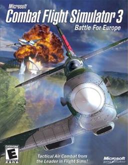 Cover for Combat Flight Simulator 3: Battle for Europe.