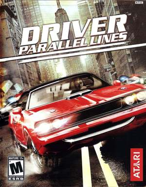 Cover for Driver: Parallel Lines.