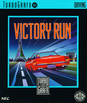 Cover for Victory Run.