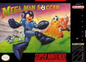 Cover for Mega Man Soccer.