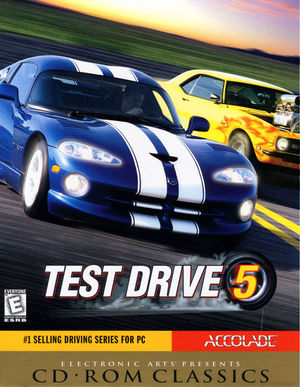 Cover for Test Drive 5.