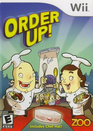 Cover for Order Up!.