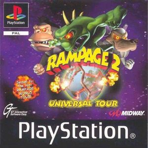 Cover for Rampage 2: Universal Tour.
