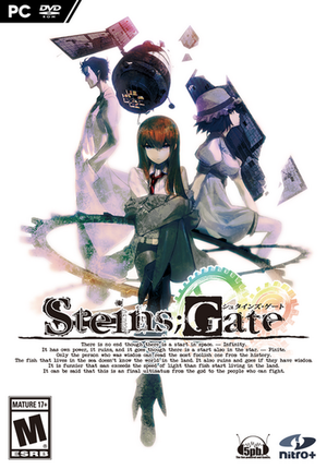 Cover for Steins;Gate.