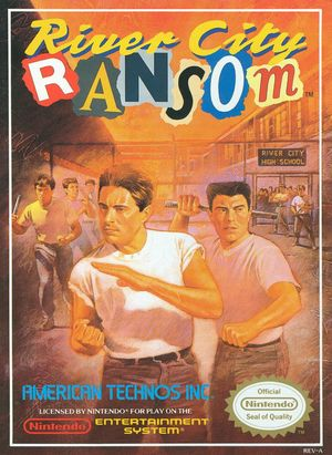 Cover for River City Ransom.