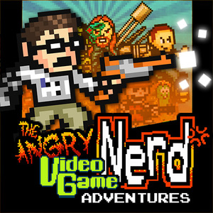Cover for Angry Video Game Nerd Adventures.
