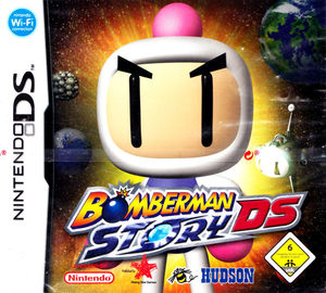 Cover for Bomberman Story DS.