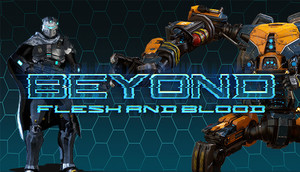 Cover for Beyond Flesh and Blood.