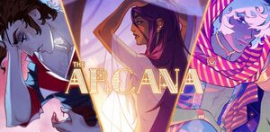 Cover for The Arcana: A Mystic Romance.