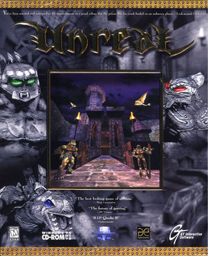 Cover for Unreal.
