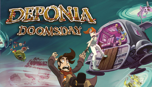 Cover for Deponia Doomsday.