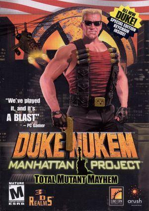 Cover for Duke Nukem: Manhattan Project.