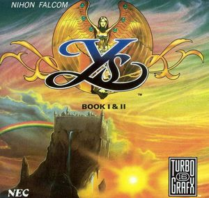 Cover for Ys I & II.