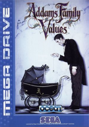 Cover for Addams Family Values.