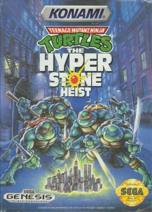 Cover for Teenage Mutant Ninja Turtles: The Hyperstone Heist.